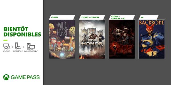 Xbox Game Pass JUIN 2021