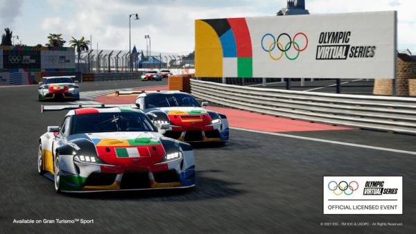 Gran Turismo Sport - Olympic Virtual Series Motor Sport Event
