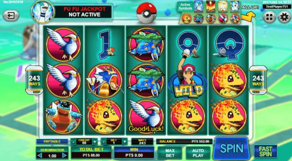 slots casino Pokémon