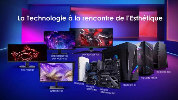 Computex 2021 - MSI -Tech meets aesthetic