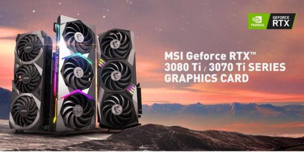 MSI NVIDIA GeForce RTX 3080 Ti - MSI NVIDIA GeForceRTX 3070 Ti