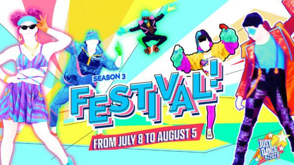 Just Dance 2021 - Saison 3 « Festival ! »
