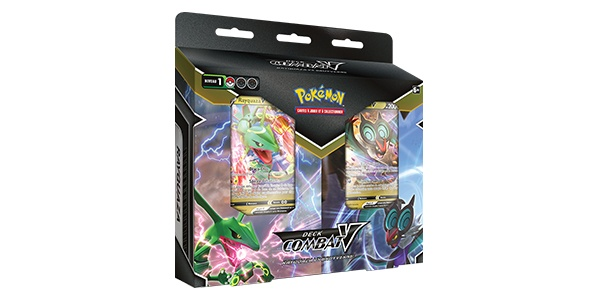 Jeu de Cartes à Collectionner Pokémon - Decks Combat-V : Rayquaza-V x Bruyverne-V