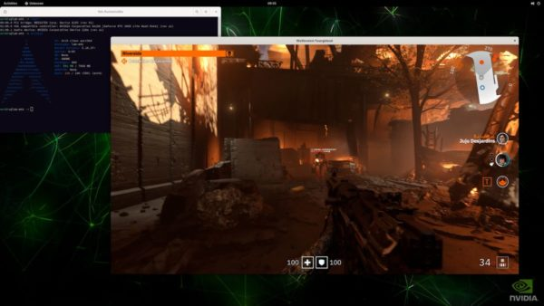 Arm NVIDIA RTX ON DLSS Ray Tracing