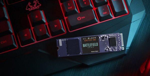 BUNDLE WD_BLACK SN750 SE NVMe SSD Battlefield 2042