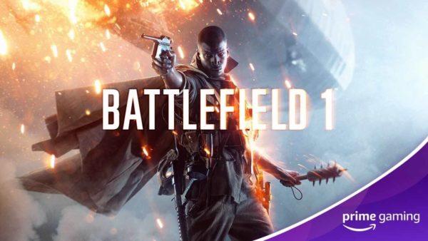 Amazon Prime Gaming offre des jeux Battlefield