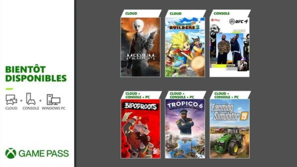 Xbox Game Pass : Bloodroots, Farming Simulator 19, UFC 4