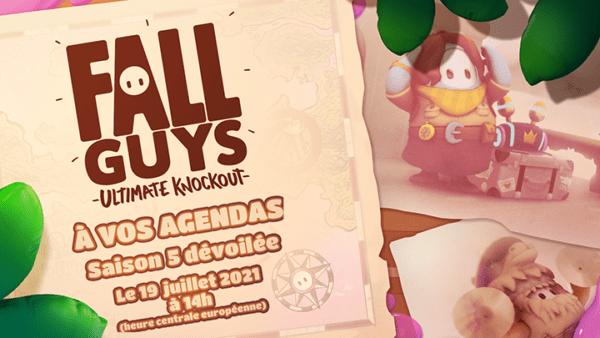 Fall Guys – La saison 5 débarque le 20 juillet