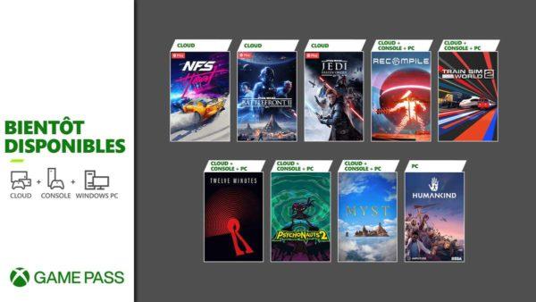 Prochainement dans le Xbox Game Pass : Psychonauts 2, Humankind, Twelve Minutes