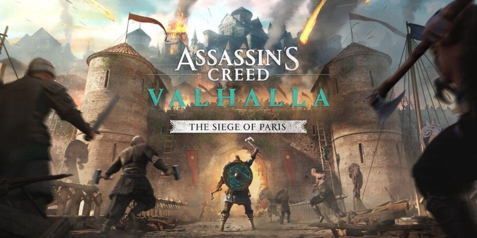 Assassin's Creed Valhalla extension Le Siège de Paris