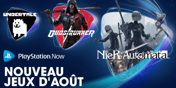 PlayStation Now - Août 2021