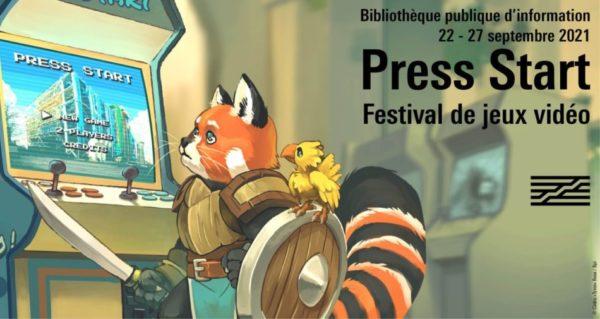 Press Start BPI Pompidou 2021