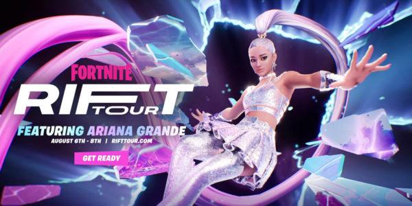 Rift Tour Ariana Grande Fortnite