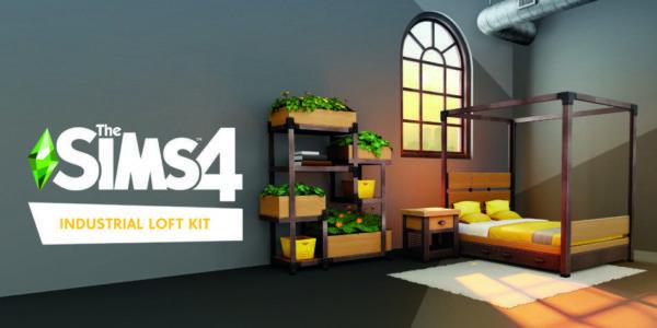 Les Sims 4 Loft Industriel
