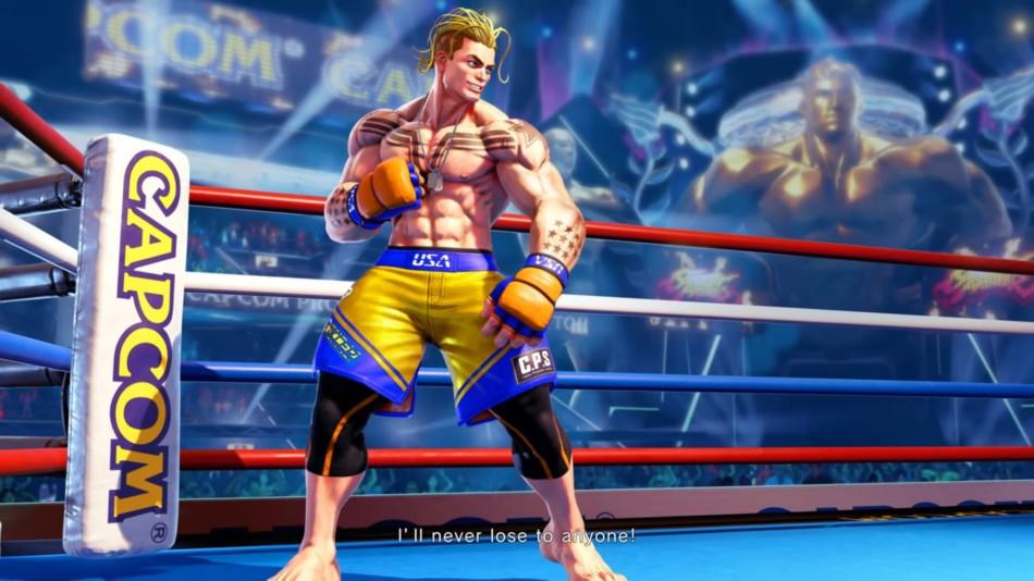 Street Fighter V - Luke