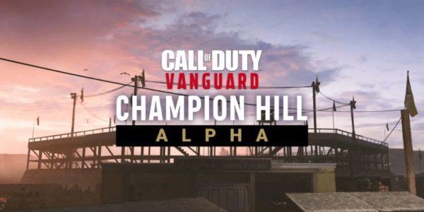Call Of Duty : Vanguard Alpha Champion de la colline