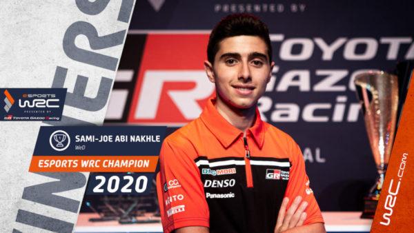 eSports WRC : Sami-Joe Abi Nakhle