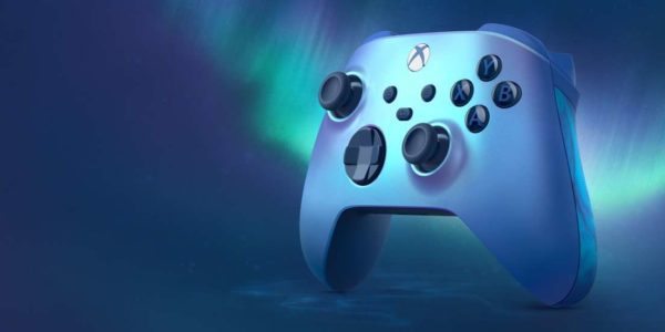 Manette sans fil Xbox – Édition Spéciale Aqua Shift
