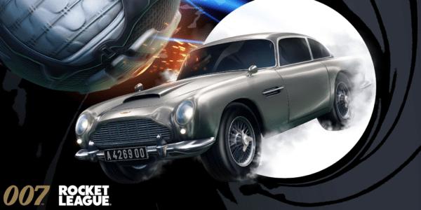 Rocket League Aston Martin DB5 James Bond 007