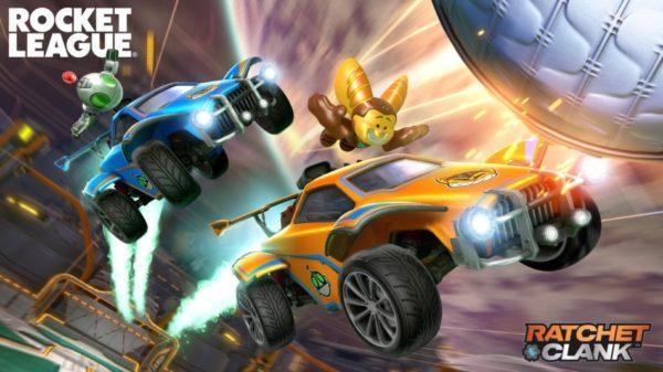 Ratchet & Clank x Rocket League