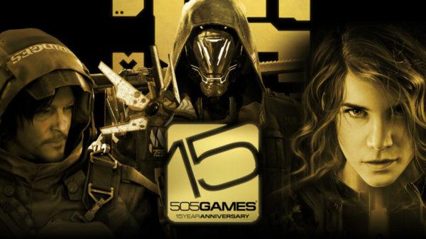 505 Games 15e anniversaire