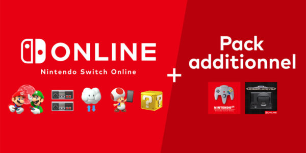 Nintendo Switch Online + Pack additionnel