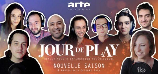 Jour de play ARTE 2021