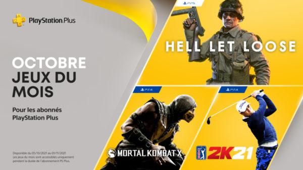 PS Plus PlayStation Plus - Octobre 2021