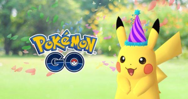 Pokémon GO Anniversaire