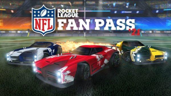 Rocket League NFL Fan Pass 2021