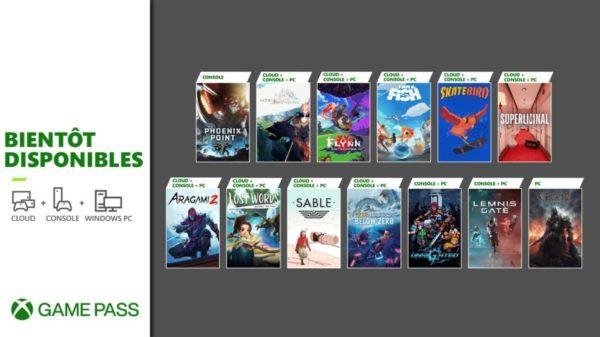 Xbox Game Pass 14 Septembre 2021