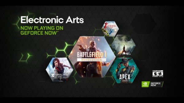 Electronic Arts x GeForce NOW