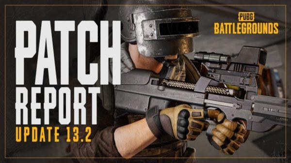 PUBG : Battlegrounds PUBG: BATTLEGROUNDS mise à jour 13.2