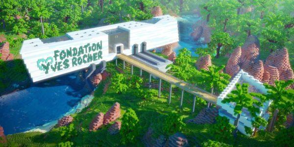 Minecraft #PLANTFORLIFE Fondation Yves Rocher