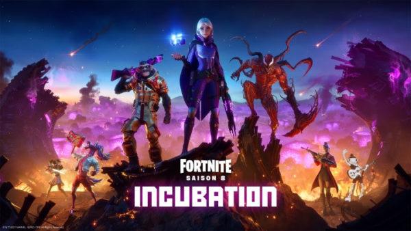 Saison 8 Chapitre 2 Fortnite Incubation