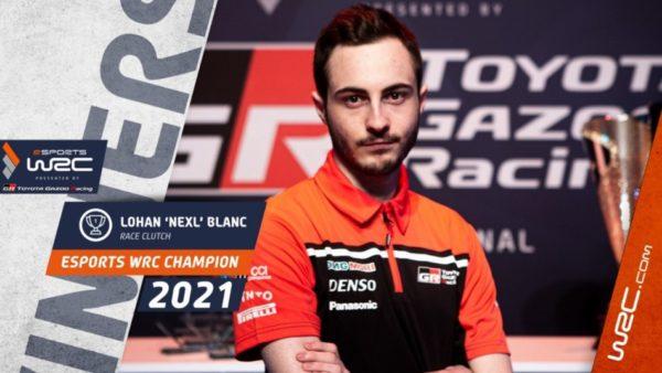 eSports WRC presented by TOYOTA GAZOO Racing 2021 : Nexl