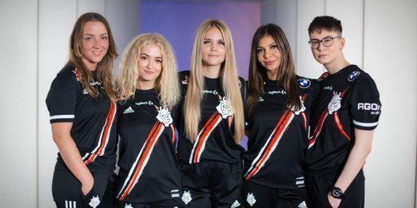 G2 Esports 100% féminine
