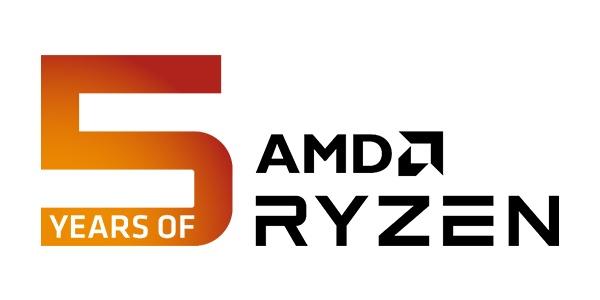 5 ans AMD Ryzen - Anniversaire