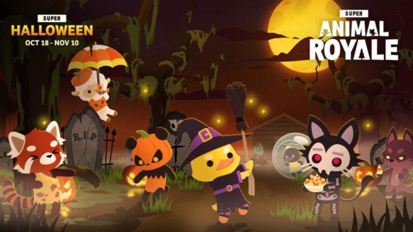 Super Animal Royale Halloween The Bwoking Dead