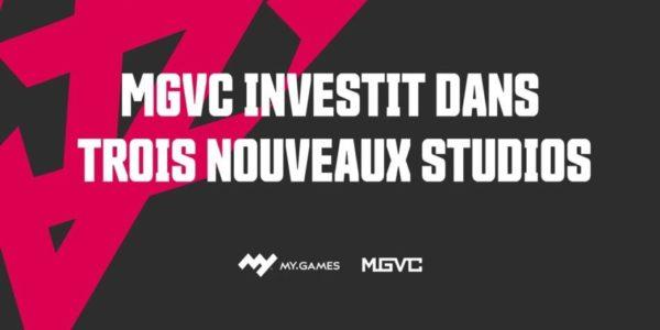 MY.GAMES Venture Capital investit dans 3 studios