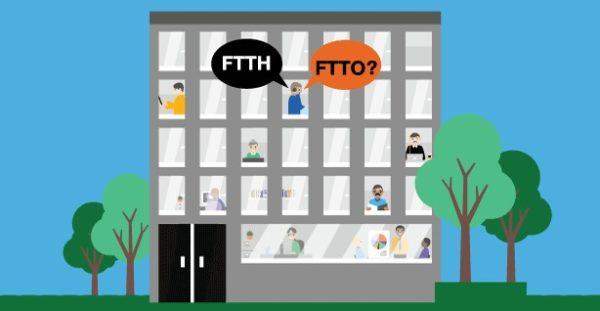 Fibre optique FTTH FTTO