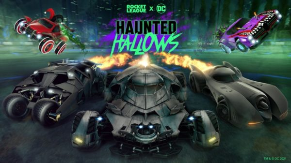 Rocket League Haunted Hallows 2021