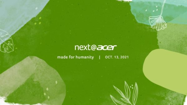Next@Acer 2021 - Acer Made for Humanity