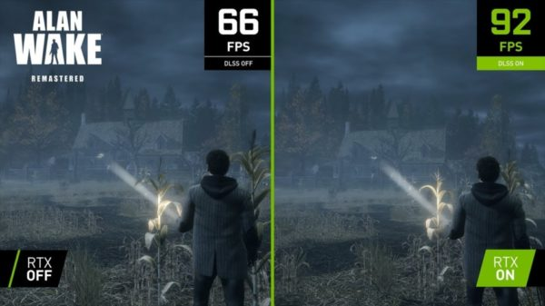 Alan Wake Remastered NVIDIA DLSS